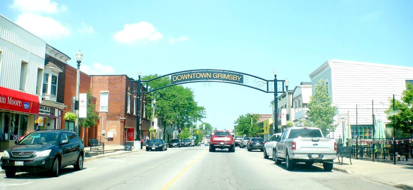 downtown grimsby ontario