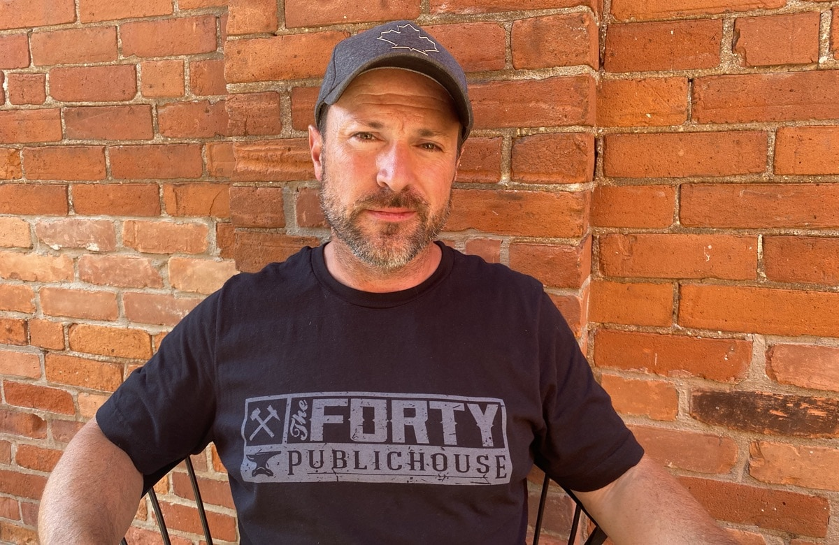 Mark Wood, owner The Forty Pub