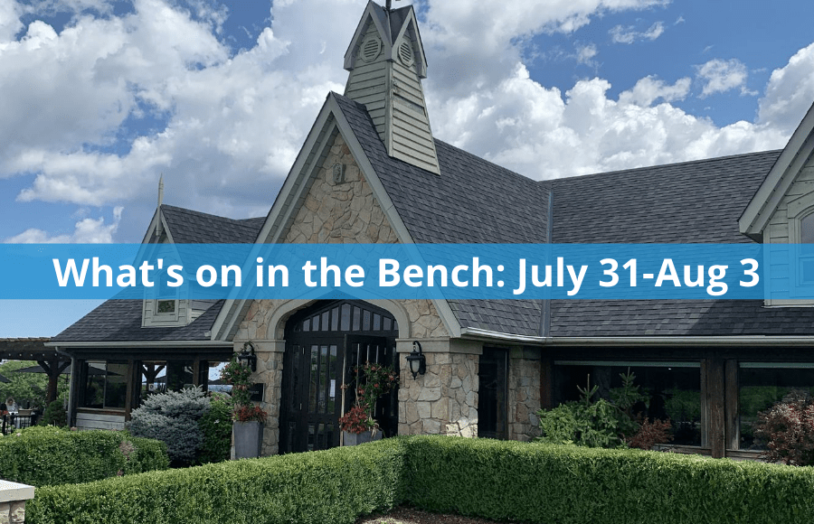 What's on in the Bench: July 31-Aug 3