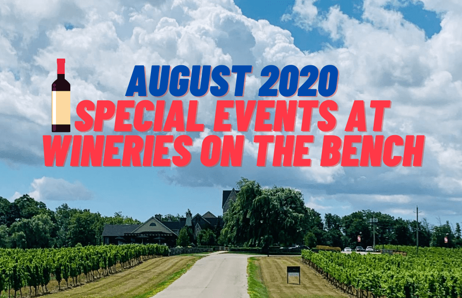 Beamsville Bench winery events still on for August 2020