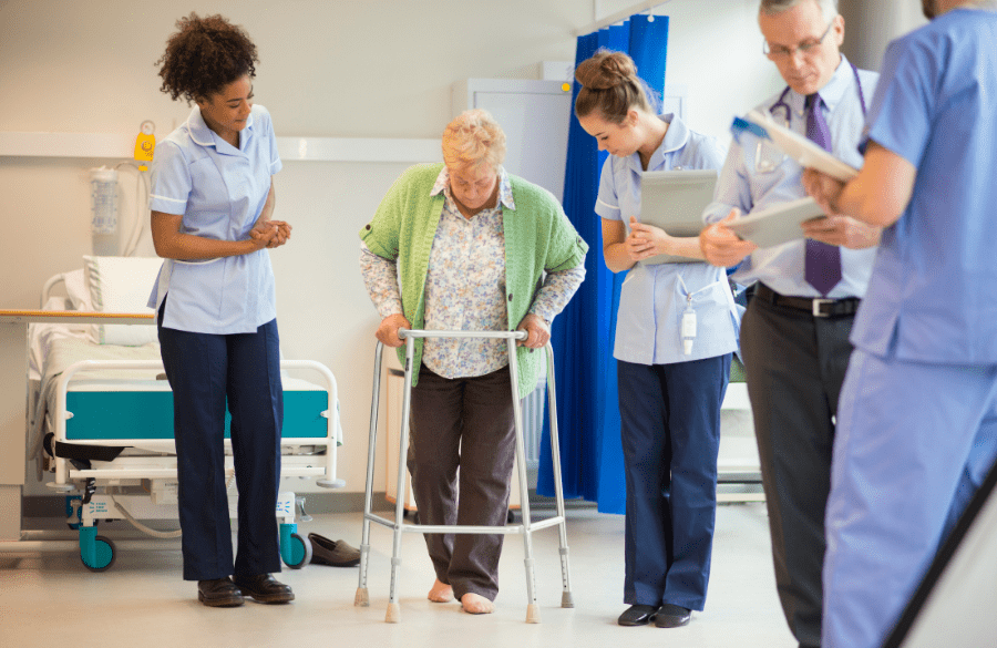 Long-term care workers