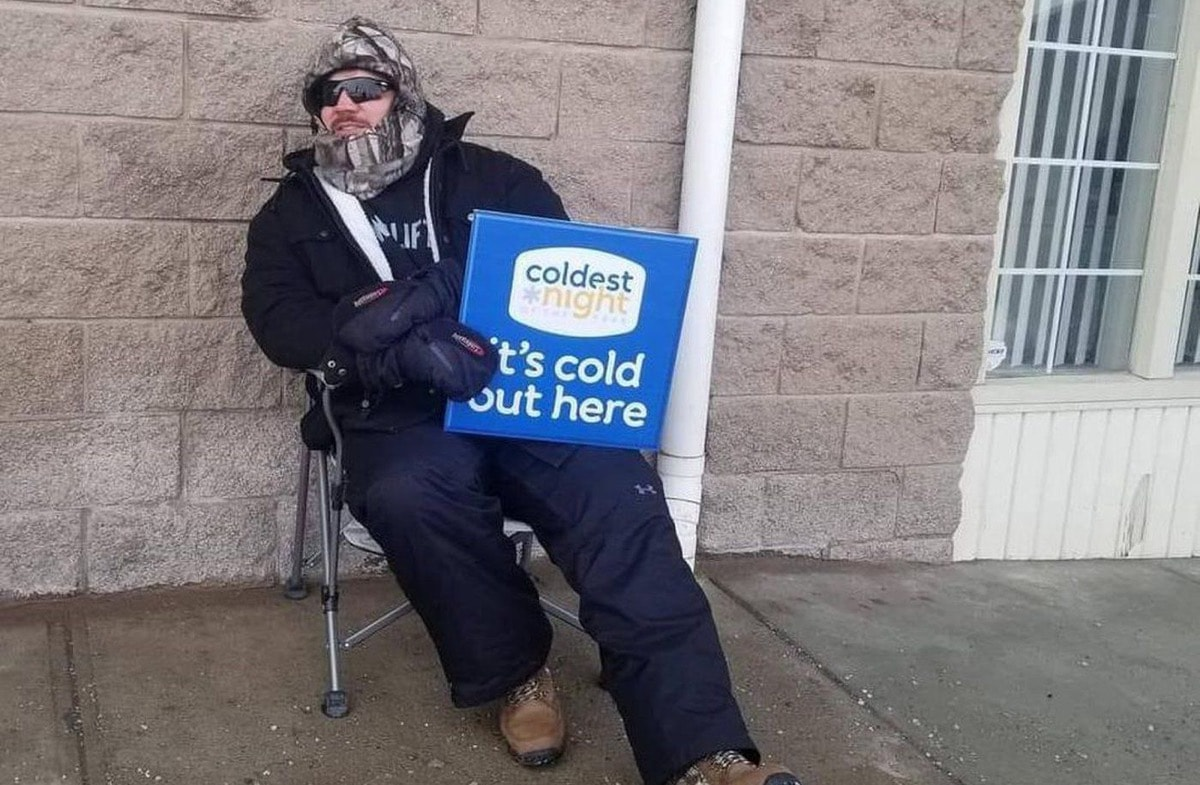 Meridan Credit Union held its Coldest Night of the Year event